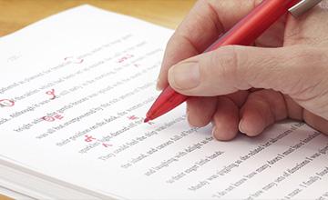coursework editing